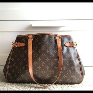 Louis Vuitton Monogram Batignolles Horizontal Bag